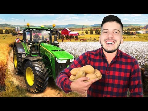 I'M A FARMER!! (Farming Simulator 2019, Episode 1) thumbnail