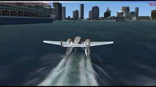 Miami Flight In Microsoft Flight Simulator FSX