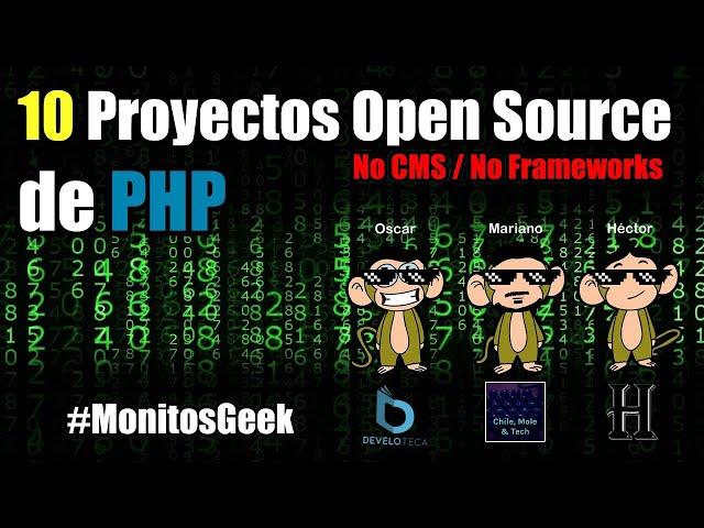 10 Proyectos Open Source de PHP que debes conocer (No Frameworks web/ No CMS)