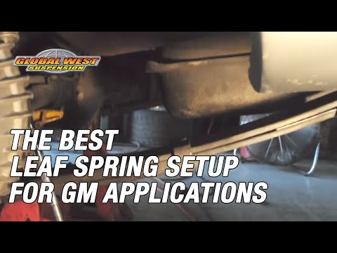 One Of The Best Leaf Spring Setups (GM App) | Road Racing And Autocross