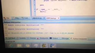 UDP Ping Server and client