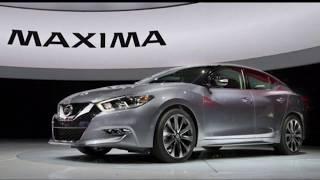 The All-New 2018 Nissan MAXIMA ☆ Platinum, S, SL, SR And SV Model