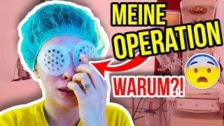 WARUM ICH OPERIERT WERDEN MUSS... AN MEINEN AUGEN. | Vlog