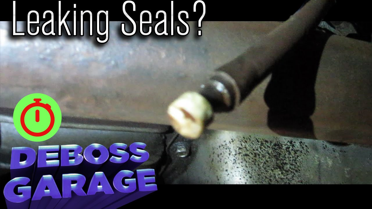 Fix A Leaking Seal In 10 Seconds