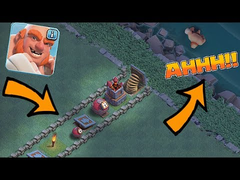 Thumbnail: PUSH THEM IN THE WATER!! 😀 PUSH TRAP MAZE!!! 😀Clash Of Clans