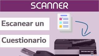 Lectura automática de cuestionario papel con Sphinx Scanner
