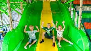 Fun for Kids at Djungelhuset Indoor Play Center (playground family fun)