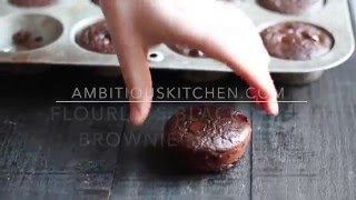Flourless Black Bean Brownies -- gluten free & healthy!