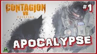 Zombie Outbreak! VR-HORROR - [Contagion VR: Outbreak] Part