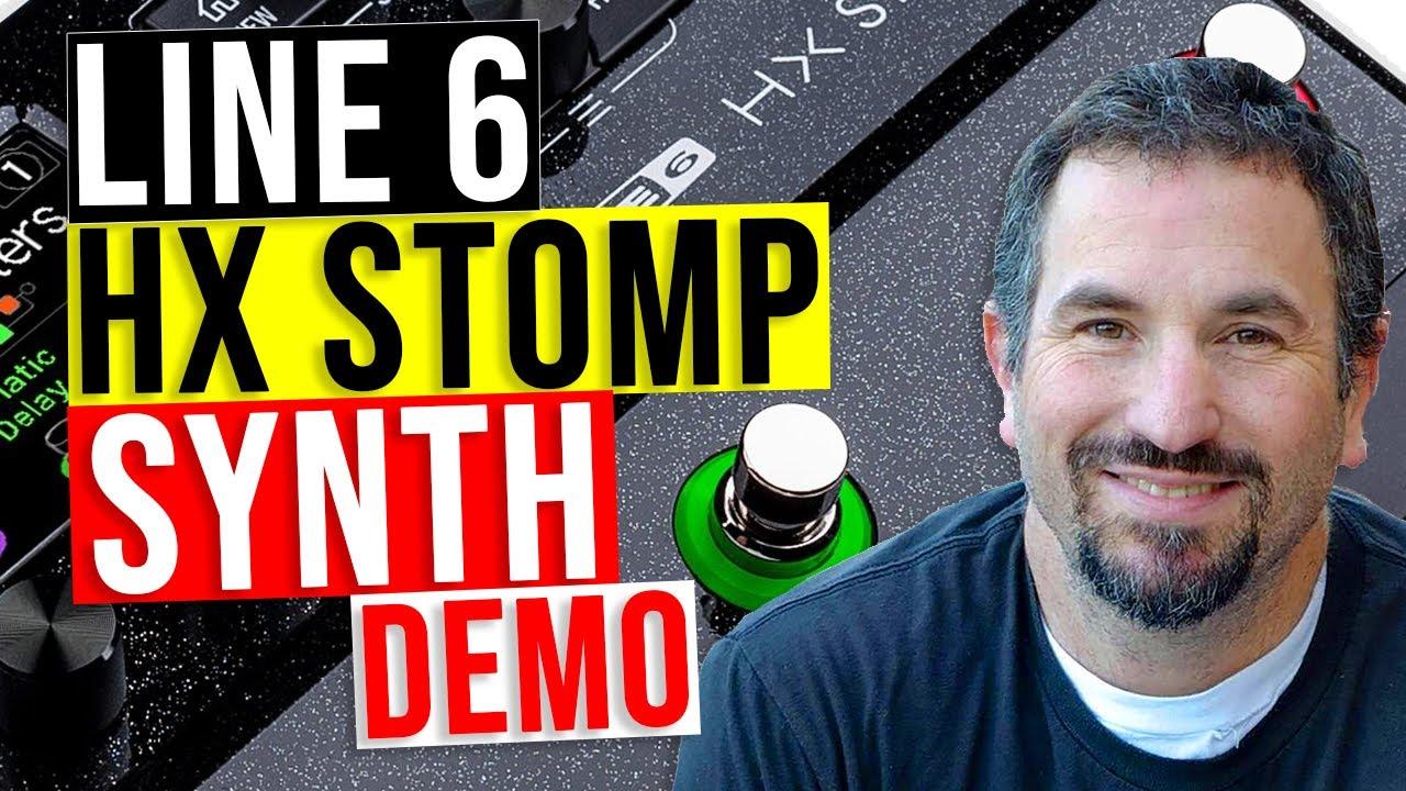 Line 6 HX Stomp Demo - Synth Simulator Any Good?
