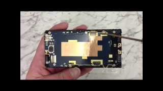 how to replace the screen on a htc windows phone 8s