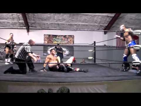 PART ONE: Clutch Adams/Mike Spanos vs.Tag Champs Marc Cruz/Shaheem Ali 04/19/14