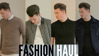 MENS AUTUMN/WINTER FASHION HAUL 2015 | JAKE DANIELS