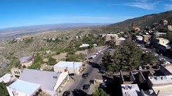Jerome, Arizona, from a bird's point of view, 6/1/14