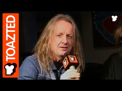 Judas Priest interview with K.K. Downing and Glenn Tipton Part 1   Toazted
