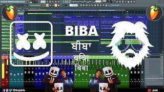 Marshmello x Pritam BIBA Instrumental Fl Studio Remake Tutorial   JAKIB