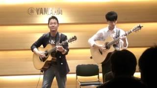(Tanaka Akihiro) Silver Wing - Sungha Jung and Tanaka Akihro
