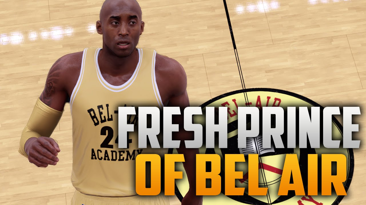 21d121a6e NBA 2K16 Fresh Prince Of Bel Air Academy Court   Jersey Tutorial ...