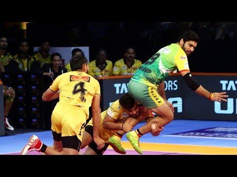 Pro Kabaddi 2018 Highlights   Patna Pirates Vs Telugu Titans   Hindi