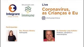 Coronavírus, as crianças, e eu.