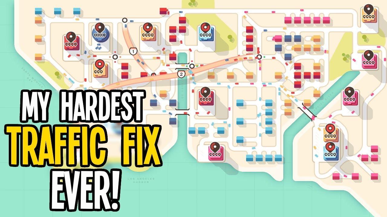 Has this Pro Traffic Fixer Met His Match? Fixing Traffic in Mini Motorways!