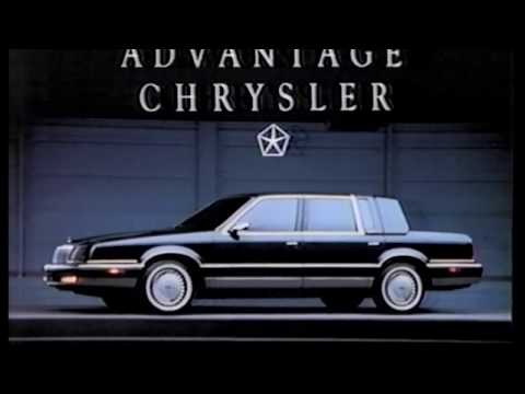 Commerical 1991 - 1992 Chrysler Fifth Avenue