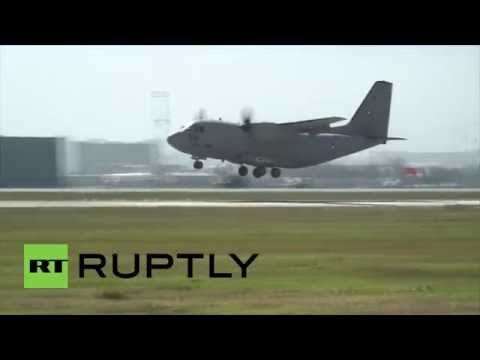 Bulgaria: Watch Russian fighter jets take over Sofia's skies