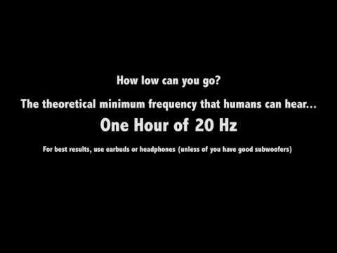 20 Hz of Sound