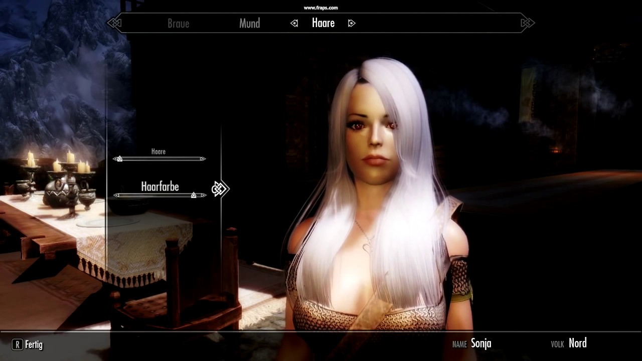 TESV Oblivion Hair Pack Part 2 FIXED for Skyrim by Christian