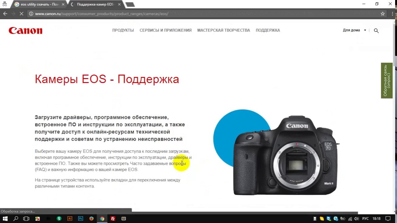 Digital photo professional: canon's image processing software.