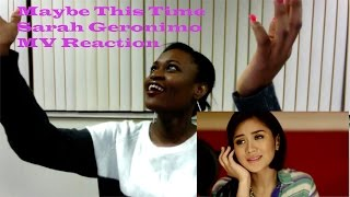 Maybe This Time Sarah Geronimo MV Reaction