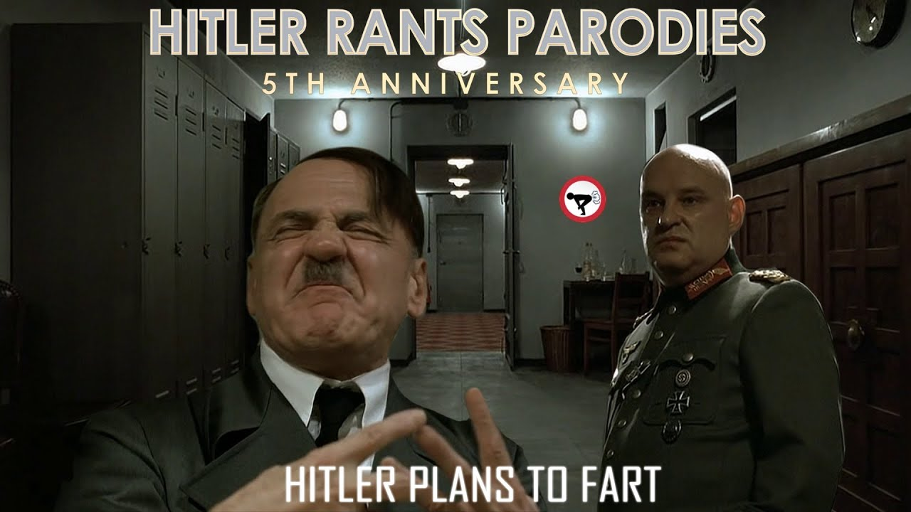Hitler plans to fart