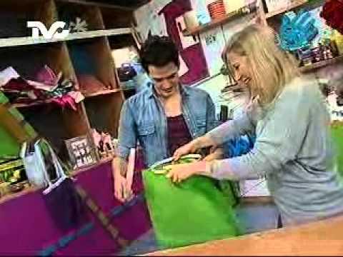 C mo hacer un cesto para ropa sucia ec youtube - Cestos para ropa sucia ...
