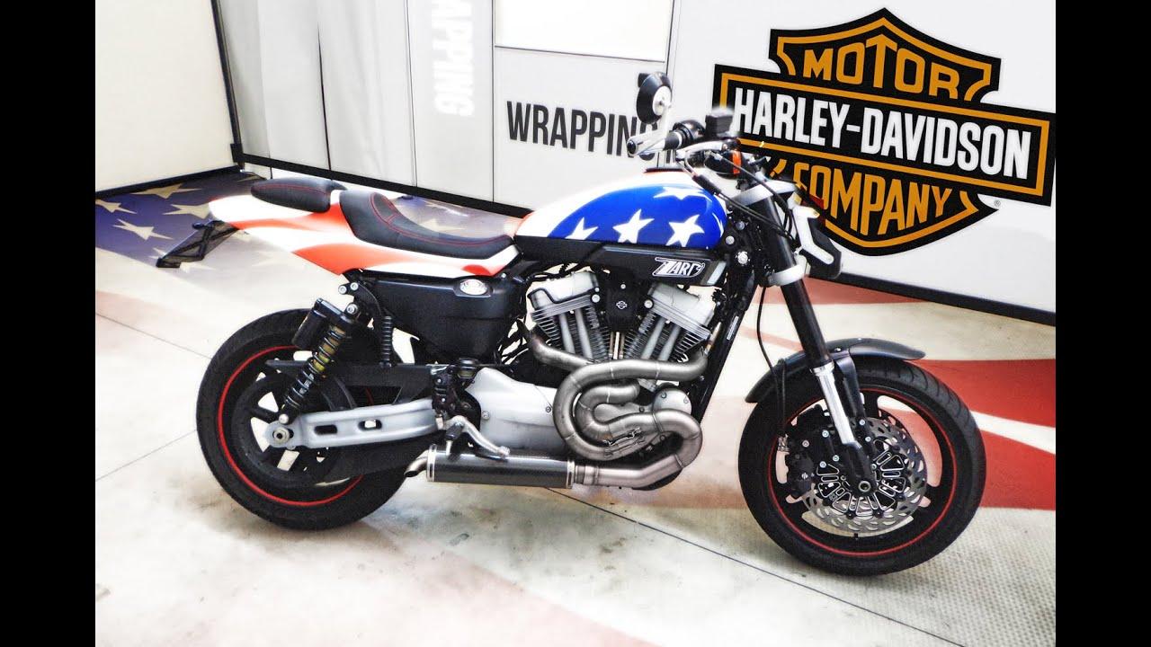 Bike wrapping harley davidson american flag decoration for Decoration maison harley davidson