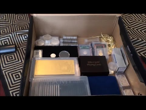 My Bullion Collection Silver Gold Platinum Palladium PREPARE FOR FIAT COLLASPE!!!