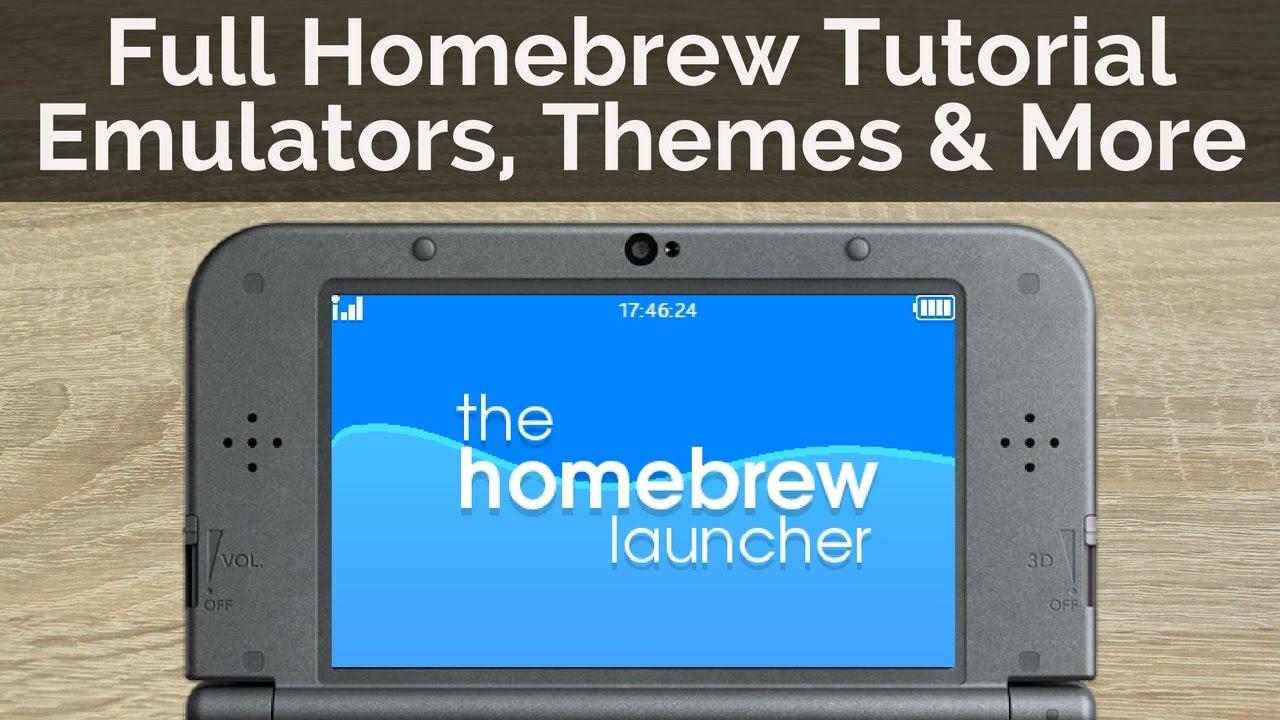 How to homebrew a nintendo 3ds/2ds: 5 steps.