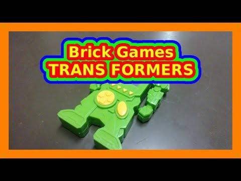 Brick Games TRANS FORMERS LCD Handheld Tetris Game M0020