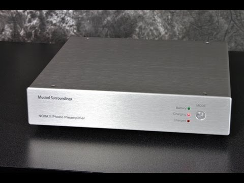 Stereo Design Musical Surroundings NOVA II Phono Stage in HD