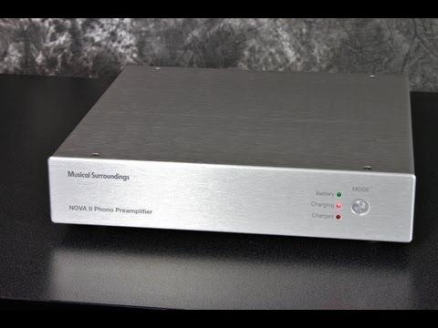 Stereo Design Musical Surroundings NOVA II Phono Stage in HD