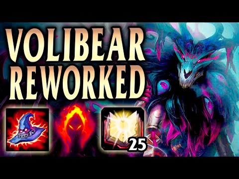 New Thousand Pierced Volibear Rework 1000+ AP! - League of Legends S10