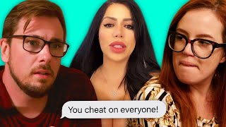 Colt Cheated on Jess and Larissa with this girl | 90 Day Fiancé