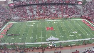 We time-lapsed fans entering Memorial Stadium for the Huskers Red-White Spring Game