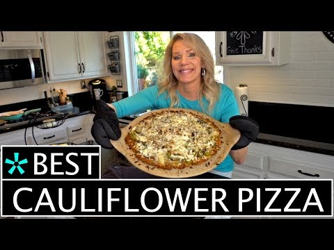 Tips On Making The Perfect Cauliflower Pizza Crust!