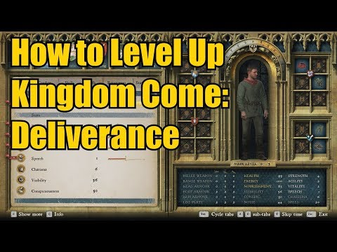 How to Level Up & Assign Skill/Perk Points in Kingdom Come: Deliverance