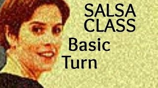 Salsa Basic Turn Step for beginners 20/22