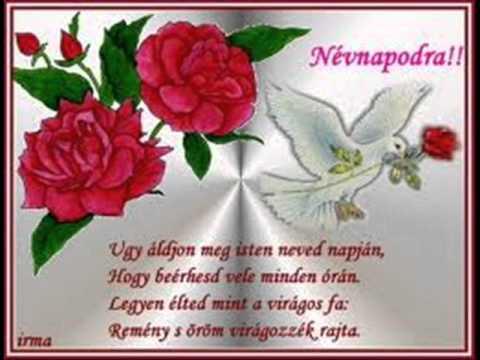 boldog névnapot keresztanya Boldog névnapot Kerianyu!!!.wmv   YouTube boldog névnapot keresztanya