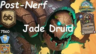 Hearthstone: Jade Druid Post-Nerf #1: Witchwood (Bosque das Bruxas) - Wild Constructed