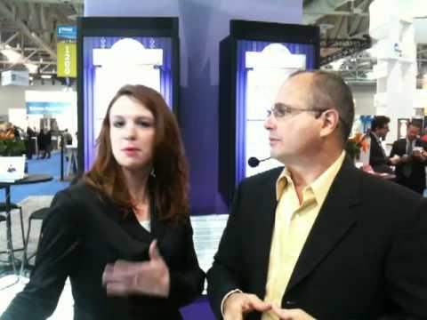 Trade Host Presenter John Di Domenico interviewing Mica Christensen