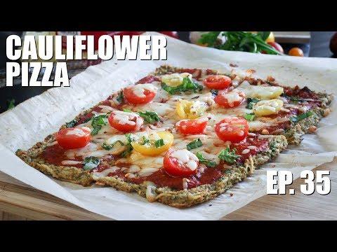 Pizza: The Best Cauliflower Pizza Crust Recipe