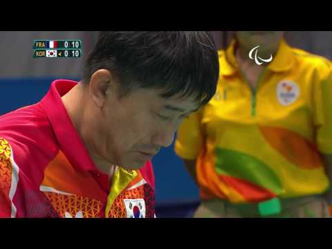 Table Tennis | Men's Team - Class 1/2 France v Republic of Korea Gold | Rio 2016 Paralympic Games